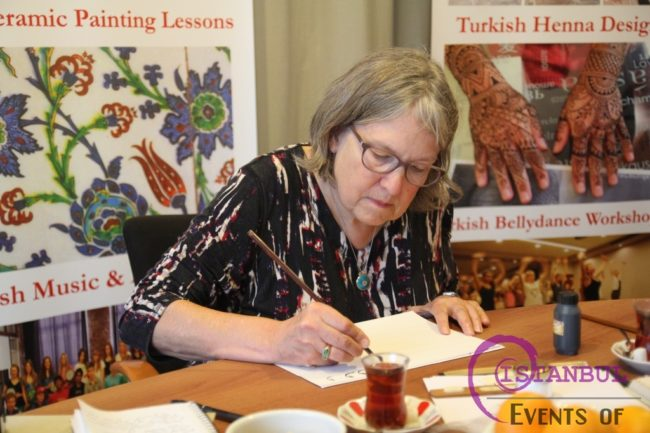 Calligraphy lessons workshops in istanbul