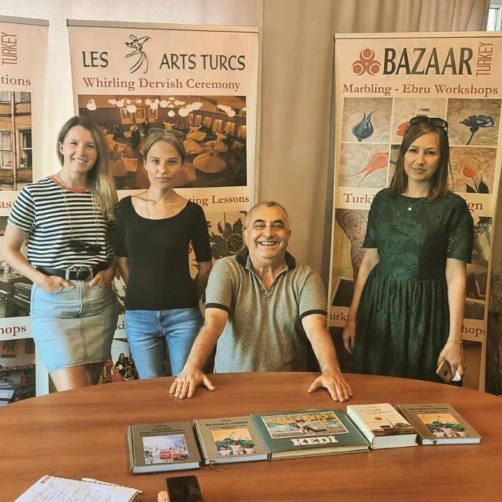 We are again visiting our friend, a famous gallery owner and producer of many Art and photo projects in Istanbul – Nurdogan Senguler